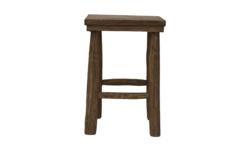 Teak Balcony Stool
