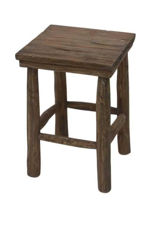 Teak balkon stool