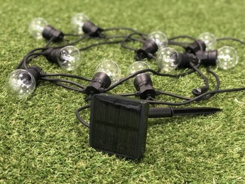 Light cord Party Clear Solar from Lumisky - 5,7 meters long - 10 bulbs