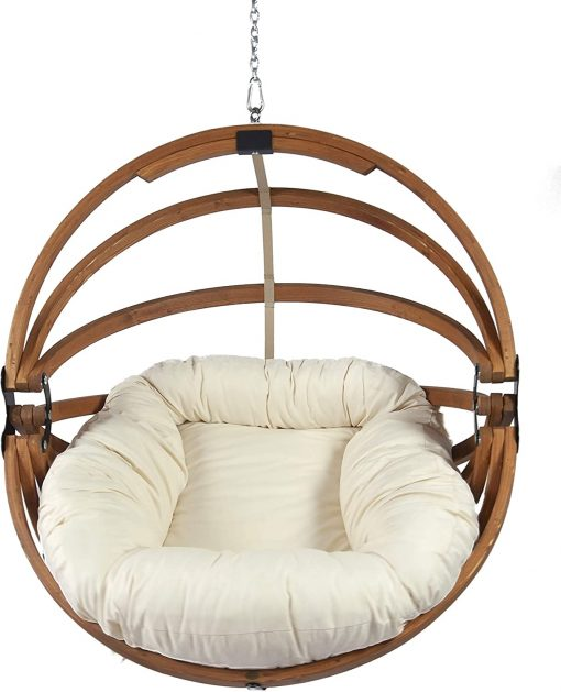 Gaya hanging chair with Polyester cushion
