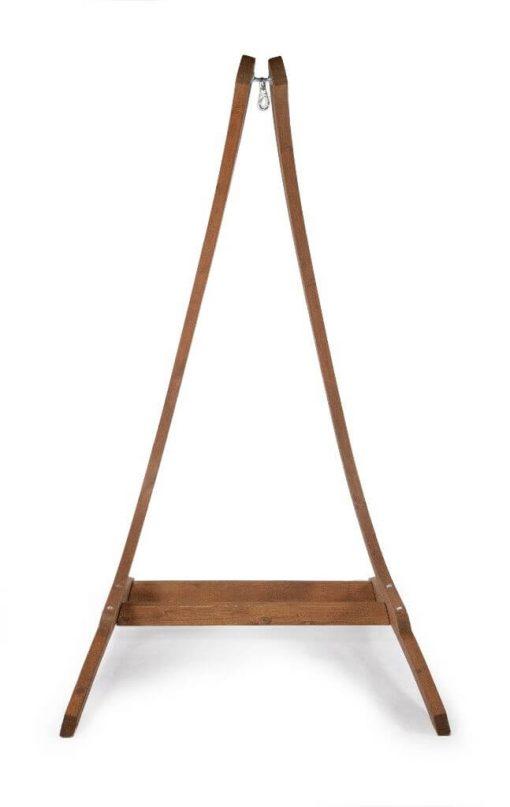 Houten hangstoel houder optimist - voorkant