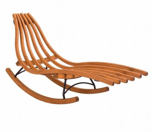 Wooden rocking chair Meltemi from Jagram